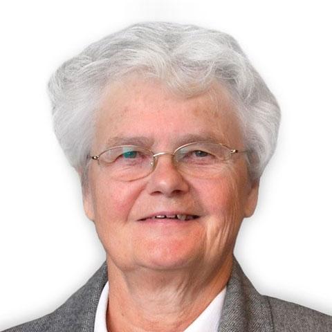 Headshot of Sister Conrad Lauber